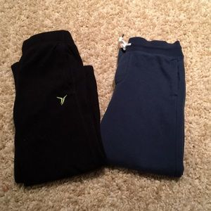 Two pairs boys sweatpants